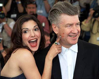 Laura Elena Harring & David Lynch at Cannes (2001)