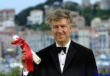 David Lynch at Cannes 2001