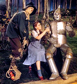 Dorothy and the Tinman