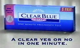 Clear Blue ad