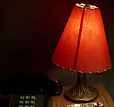 Red Lamp Shade